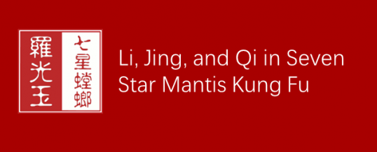 Li, Jing and Qi in Mantis Kung Fu